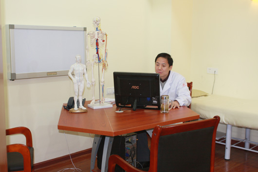 北京众安康中医骨科医院医生办公室