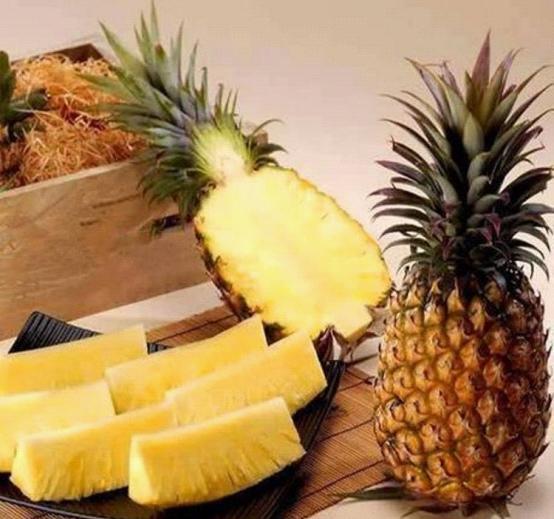菠萝凤梨区别图片说明-春食菠萝解腻除烦