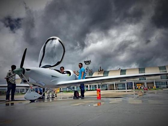 该飞机是有云南弥勒浩翔科技有限公司自主研发设计并制造,是西南地区