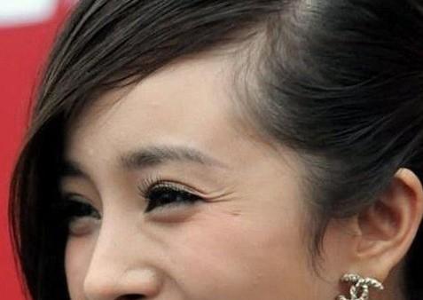 杨幂鱼尾纹刘诗诗眼袋 高清镜头下女星肌肤真相