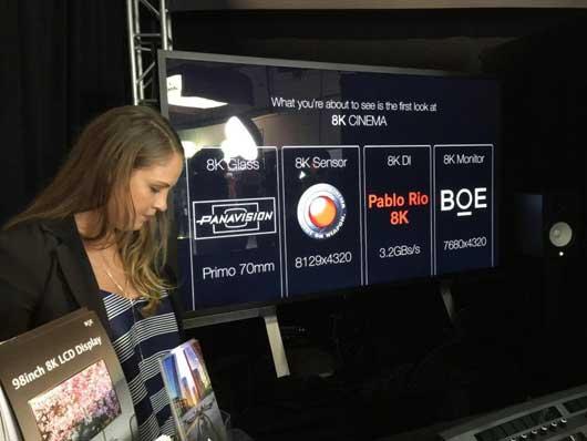 京東方(BOE)8K顯示屏進軍好萊塢
