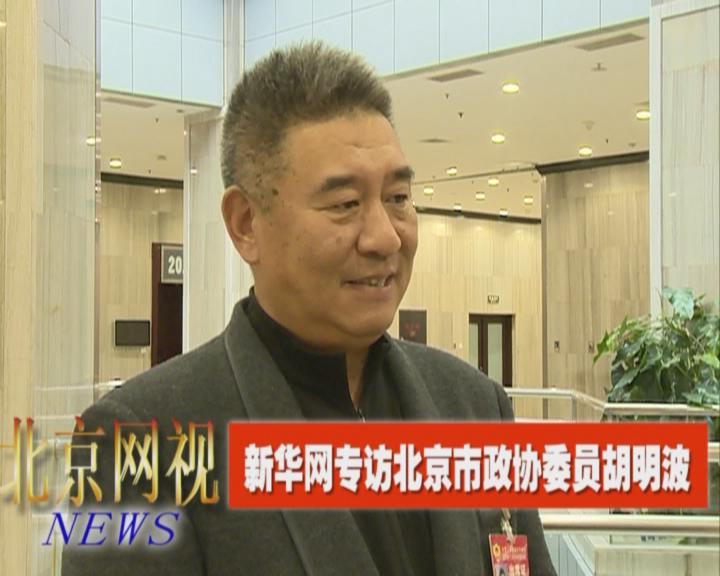 新華網專訪北京市政協委員胡明波