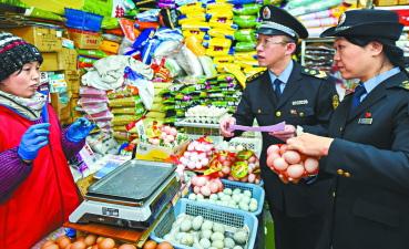春节临近 北京东城区全面检查辖区农贸市场