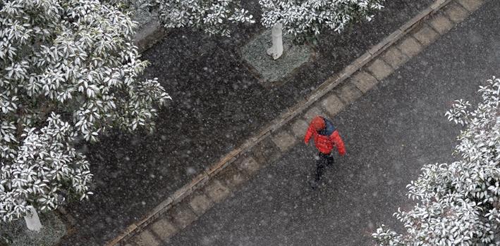 入冬以來最強雨雪上線