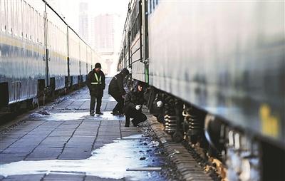 21列春运增开列车整修完毕