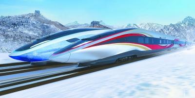 京張高鐵智能動車組新設計亮相