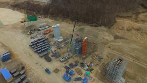 北京冬奧會張家口賽區部分建設項目集中復工開工