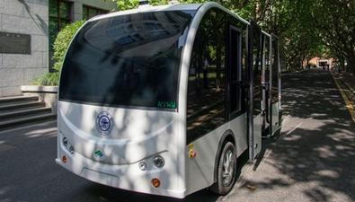 中國智造:無人駕駛小巴來了