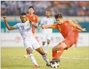 第十八届亚运会男足小组赛 中国队胜东帝汶队