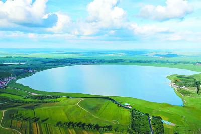 草原明珠沽源天鹅湖