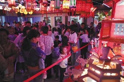 安贞街道举办中秋灯会