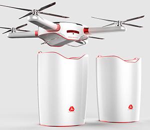 災區防疫-醫療廢品處理無人機