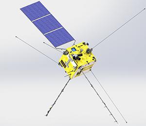 張衡一號衛星構型布局設計