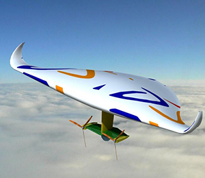 太陽能飛艇