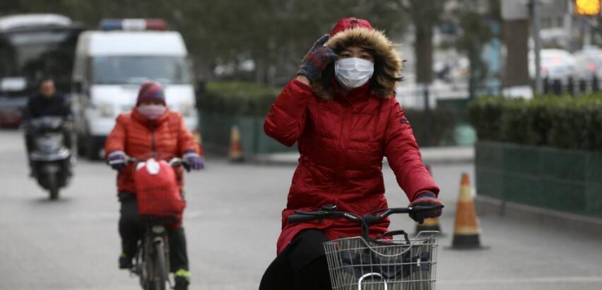 寒潮強勢來襲 北京最高溫跌破冰點