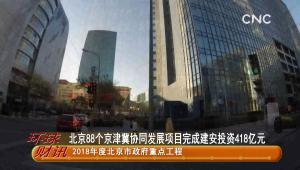 北京88個京津冀協同發展項目完成建安投資418億元