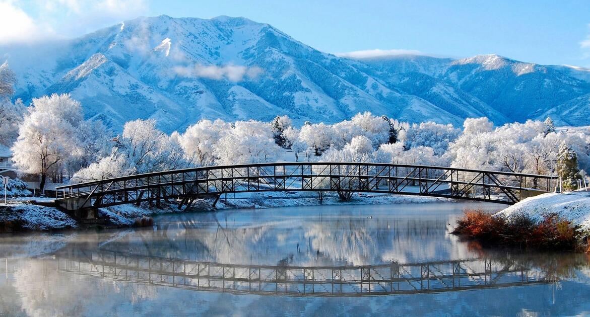 冷空氣來襲 中國多地美景吸引遊客