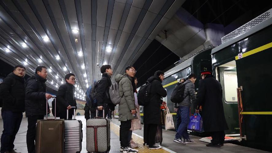 2019春運大幕開啟 列車推便利措施