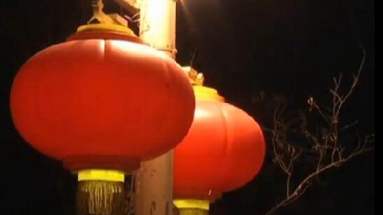 北京:長安街春節景觀燈開始布置