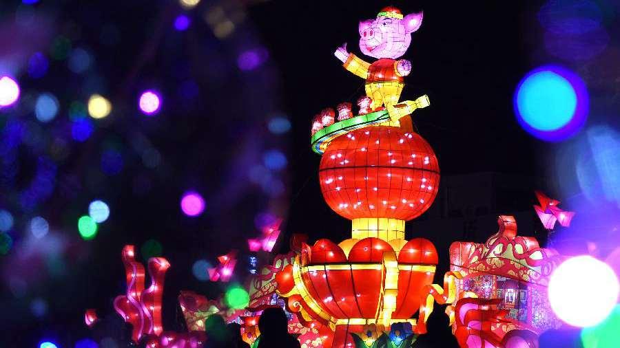 中國各地喜迎元宵佳節