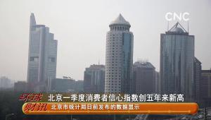 北京一季度消費者信心指數創五年來新高