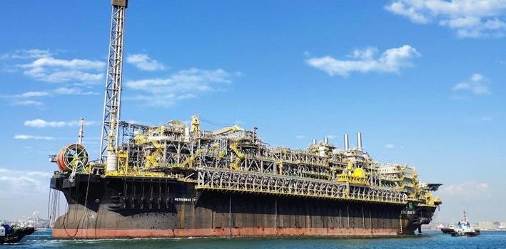 超級油氣處理平臺海上安家