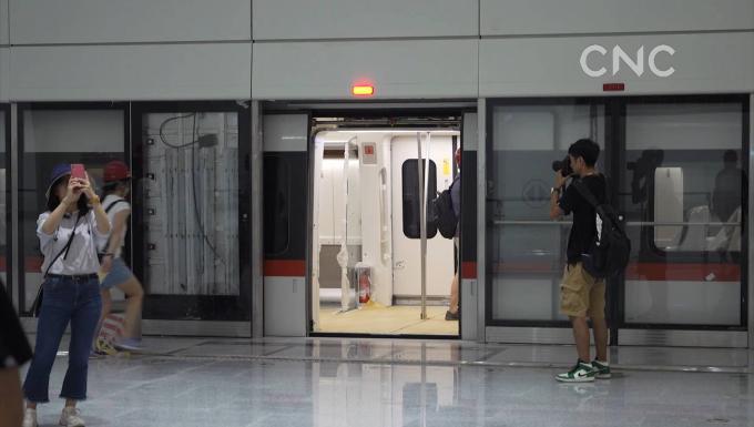 體驗北京新機場線試運行