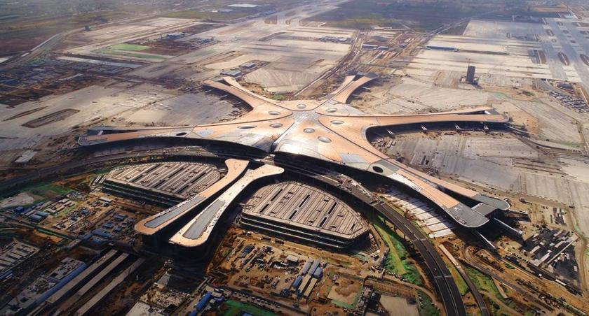 """大興國際機場:航站樓""""雙進雙出""""設計 方便出行"""