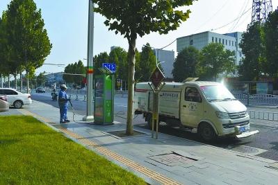 北京環衛覆蓋三河鄉鎮村街