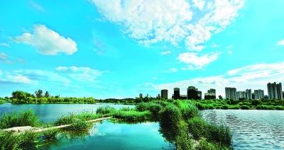 蓮石湖美景