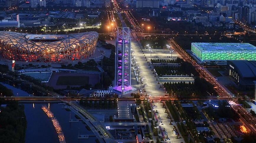 北京:前門至奧林匹克公園夜景觀光線路開通