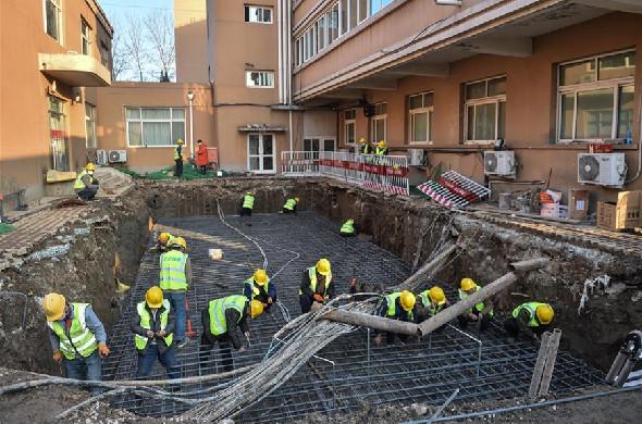 探訪正在改造的北京小湯山醫院
