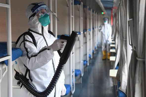北京:加強列車衛生消毒 守護旅客出行安全
