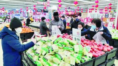北京(jing)物(wu)美連續奮戰 保障市民基本生活需求