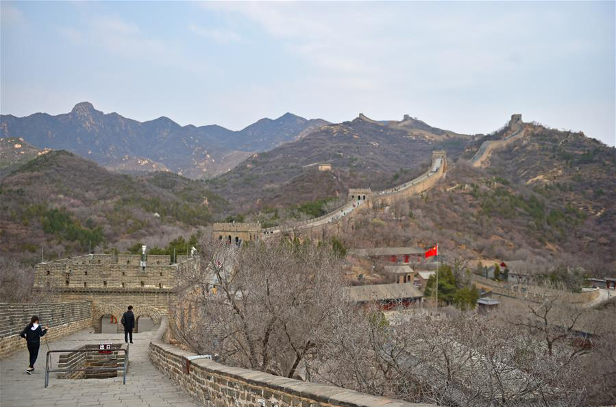 八達嶺長城景區部分恢復開放