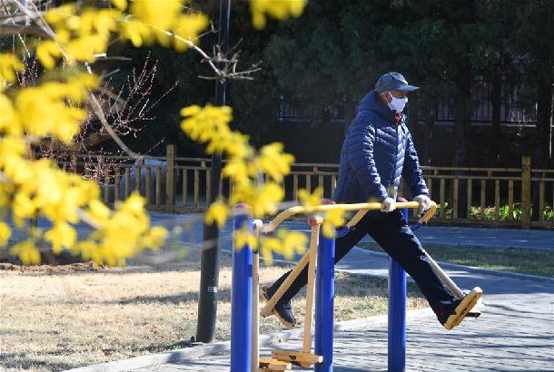 北京平谷:享受春日美好時光