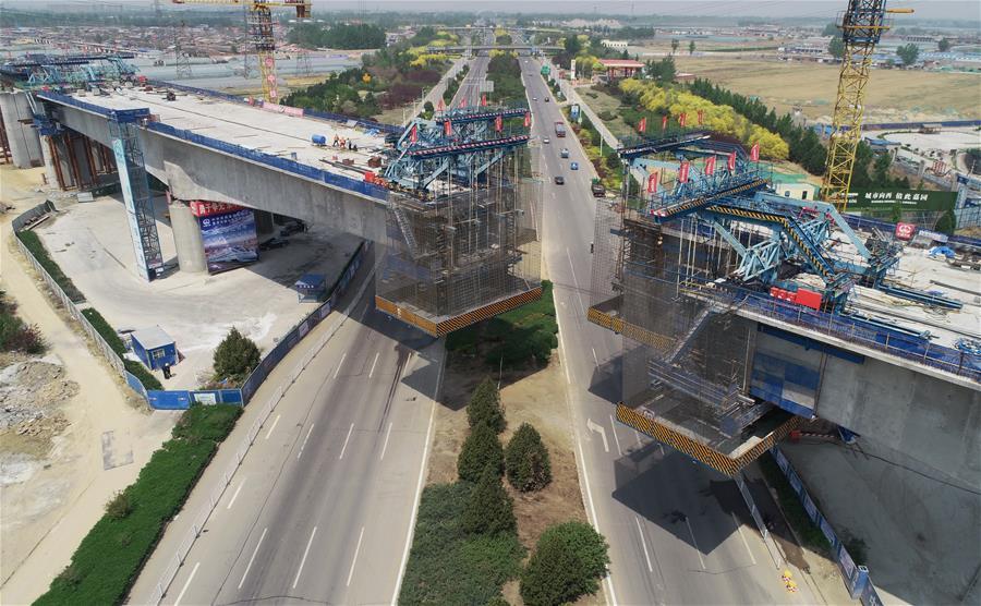 京唐城際鐵路唐山段建設穩步推進