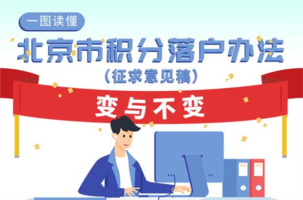 一图看懂《北京市积分落户管理办法》修订的变与不变
