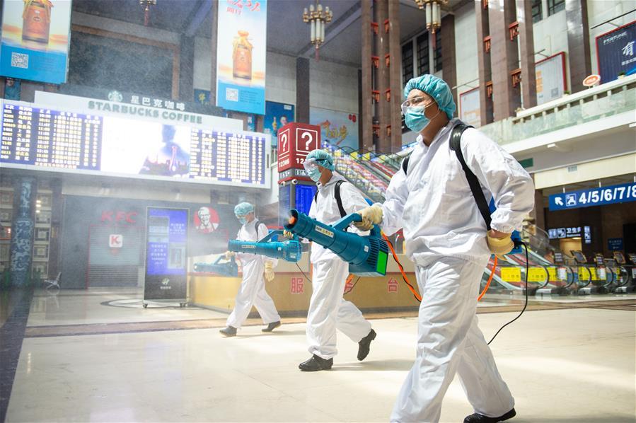 北京:加強北京站疫情防控