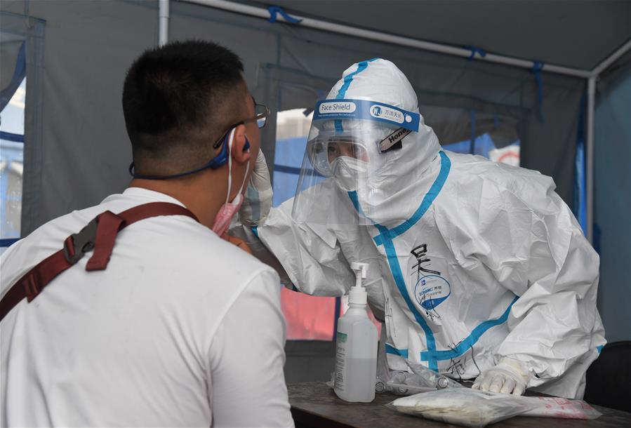 北京:探訪海淀區區級核酸檢測採樣點