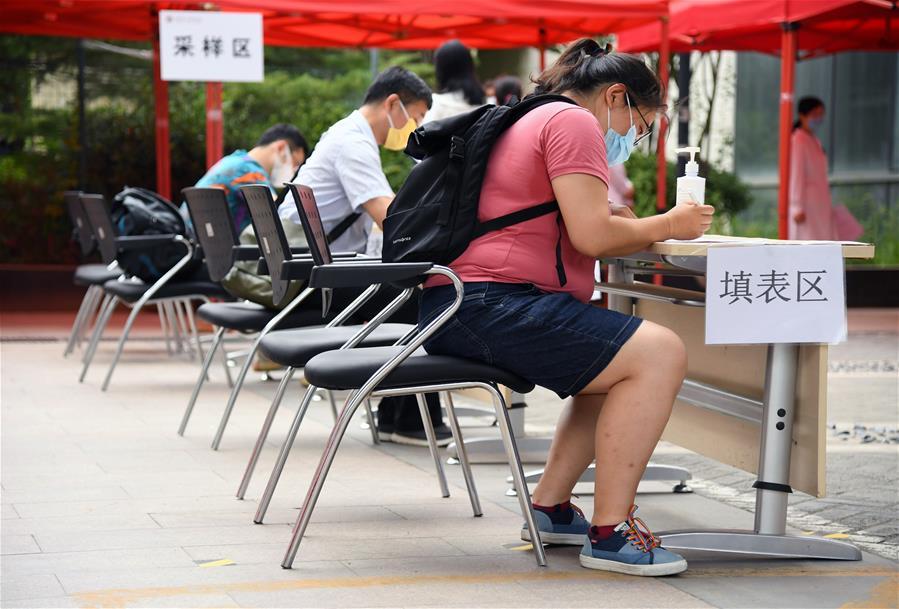 北京:加強核酸檢測採樣點管理
