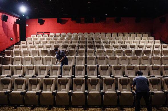 探訪北京電影院復工前消殺清潔工作