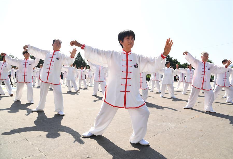 北京:第二屆丫髻山太極文化節開幕