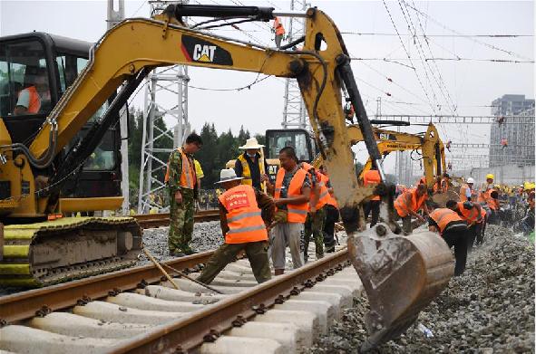 京滬線、京廣線普速鐵路正式撥入新建豐臺站內