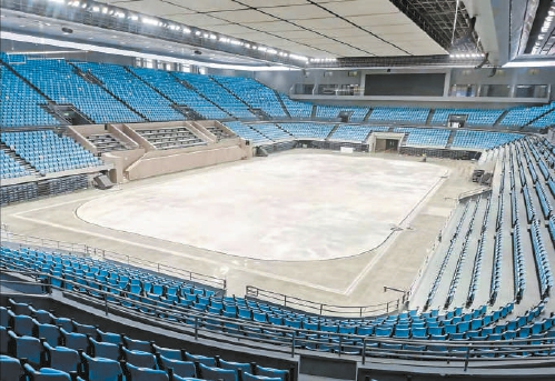 冬奧北京賽區15塊冰面完成場地建設