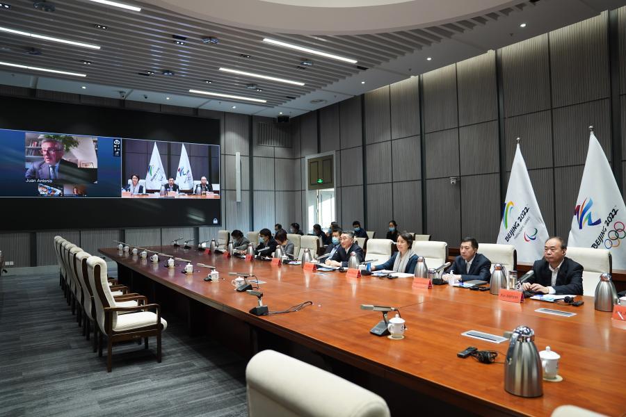 國際奧委會-國際殘奧委會北京冬奧會和冬殘奧會項目審議會召開