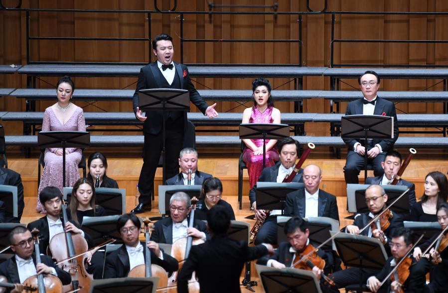 音樂會版歌劇《茶花女》在京上演
