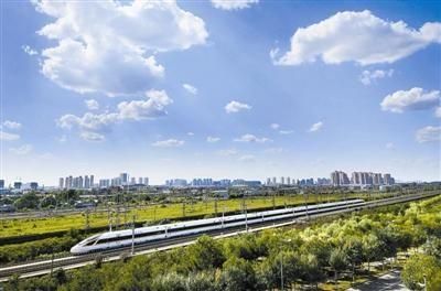 """河北2025年基本建成""""軌道上的京津冀"""""""